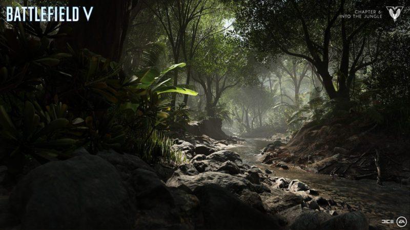 BFVの新マップ「ソロモン諸島」
